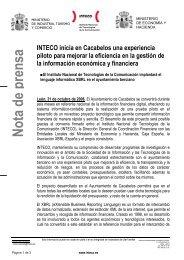 Leer Nota de Prensa - XBRL España