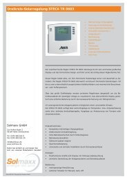 Dreikreis-Regelung STECA TR 0603.indd - Solmaxx