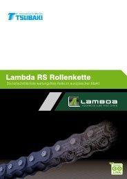 Lambda RS Rollenkette - Tsubaki Europe