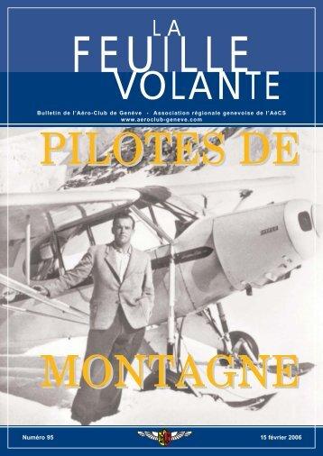 Numéro 95 15 février 2006 - Aeroclub de Genève