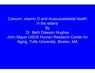 Calcium, vitamin D and musculoskeletal health in the ... - ILSI India