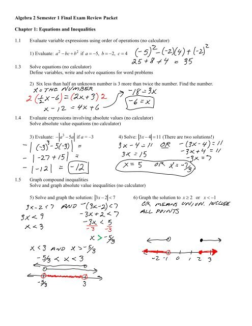 2.2 solving absolute value equations