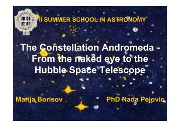 The Constellation Andromeda - The Constellation ... - eLibrary Home
