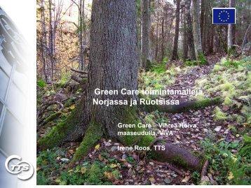Green Care –toimintamalleja Norjassa ja Ruotsissa - TTS