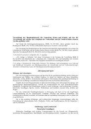 Verordnungsentwurf (pdf, 149 KB) - Bundesministerium für ...