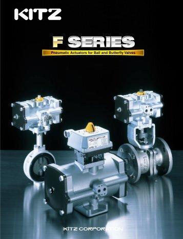 F Series Pneumatic Actuators E-357=09