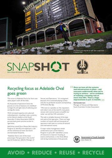 Zero Waste SA SnapShot – SACA - SA.Gov.au