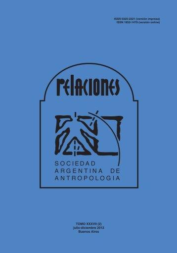 Descargar PDF (279Kb) - Sociedad Argentina de Antropología