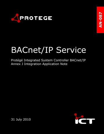 BACnet/IP Service Programming