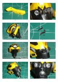 Transformers Bumblebee Head - Paper Inside - Page 3