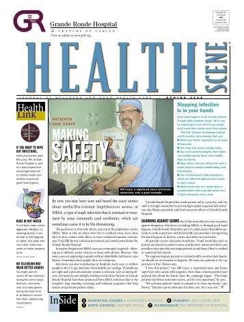 Health Scene - Spring 2008 - Grande Ronde Hospital