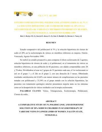 Vol. 5, N° 1. Año 2001 ESTUDIO COMPARATIVO DEL ...
