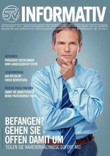 02/2011 - landesverband oberösterreich und salzburg