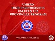 Provincial Player Presentation (PDF Format) - Ontario Soccer ...