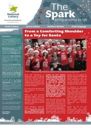 From a Comforting Shoulder to a Toy for Santa - National Lottery