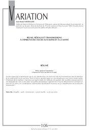 RSI 73 - Banque de données en santé publique