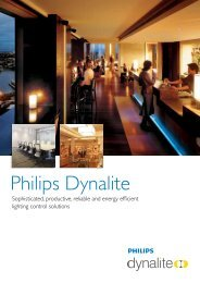 Philips Dynalite - Philips Lighting