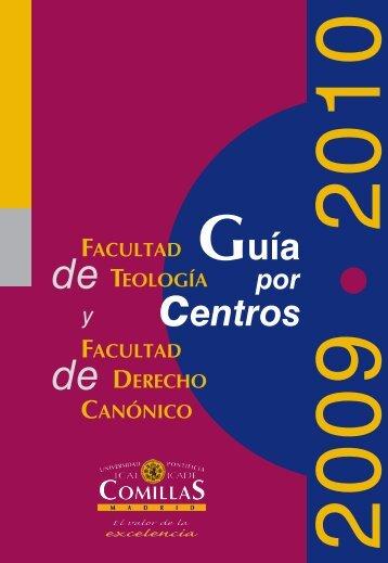 FACULTAD TEOLOGÍA de - Universidad Pontificia Comillas