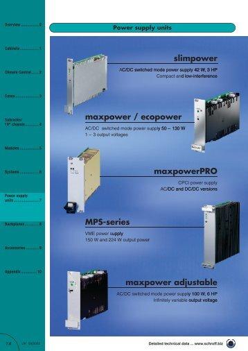 Power supply units