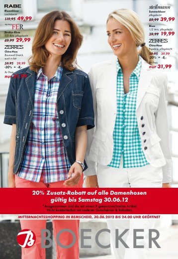 29,99 - Boecker Modehaus - Damen