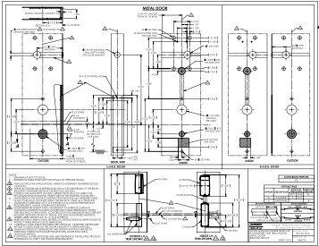 Manufacturer\u0027s Door Template for Passport 1000 P2 8900 Mortise .