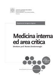 Medicina interna ed area critica - Policlinico di Modena