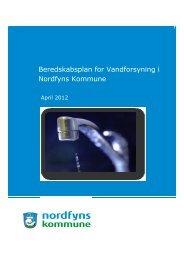Beredskabsplan for vandforsyningen - Nordfyns Kommune