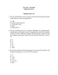 Midterm Exam 2 from Fall 2005