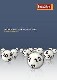 Geschäftsbericht 2012 - Lotto24 AG