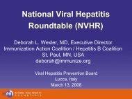 NVHR - Viral Hepatitis Prevention Board
