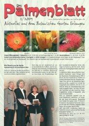 1/2009 - Botanischer Garten Erlangen