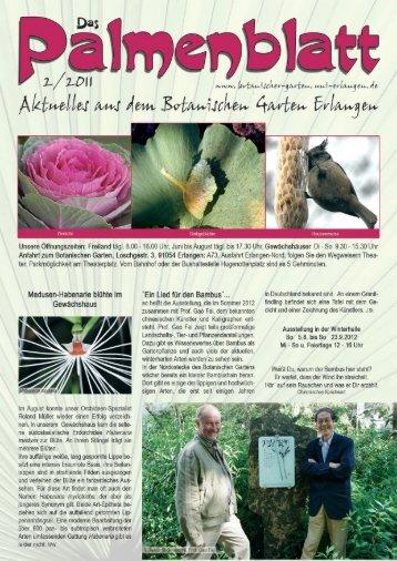 2/2011 - Botanischer Garten Erlangen