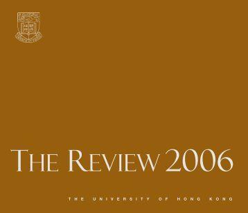2006 Review - The University of Hong Kong