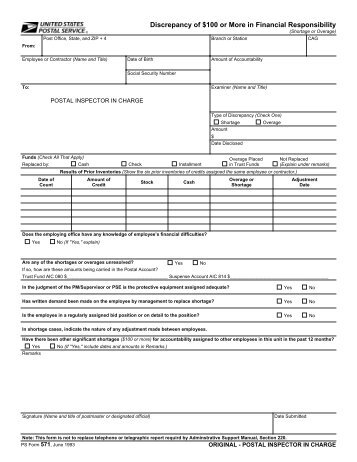 ECC Attendance Log and Discrepancy Form - Community ...