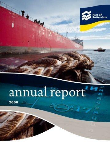 Annual report 2008 - Port of Rotterdam
