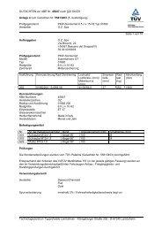 GUTACHTEN zur ABE Nr. 45647 nach §22 StVZO Anlage 4 zum ...