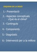 El Clima Escolar. Dimensions i factors - Groc - Page 2