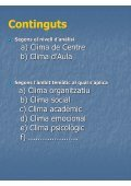 El Clima Escolar. Dimensions i factors - Groc - Page 4