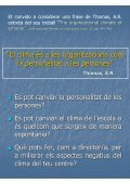 El Clima Escolar. Dimensions i factors - Groc - Page 7