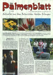 1/2008 - Botanischer Garten Erlangen