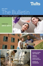 2013–2014 The Bulletin - USS at Tufts - Tufts University