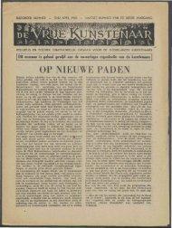 eind april 1945 - Vakbeweging in de oorlog