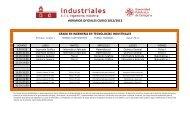 horarios oficiales curso 2012/2013 - Escuela Técnica Superior de ...