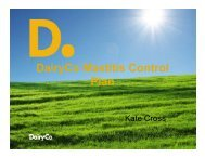 The Mastitis Control Plan - Kate Cross, Knowledge Transfer Product ...
