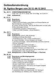 Gottesdienstordnung - pfarreien-begv.de