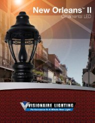 New Orleans II - Visionaire Lighting, LLC