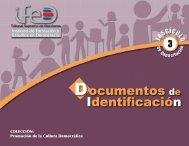 Documentos de Identificación - Tribunal Supremo de Elecciones