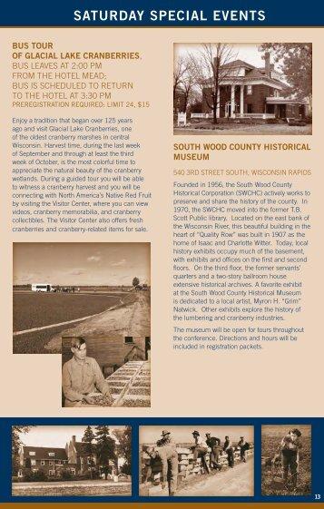 Agenda - Wisconsin Historical Society