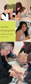 le programme des actions éducatives 2012-2013 - Archives ... - Page 6