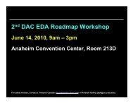 Presentation Materials Including Discussion Notes - UCSD VLSI ...